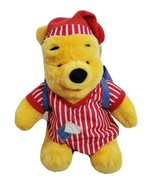 Winnie The Pooh Sleepover Bear With Backpack And Pajamas On Mattel 1998 - $39.19