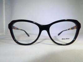 97f704eb15fb Miu Miu VMU 01N 1AB-1O1 Black Tortoise New Eyeglasses 52mm - 16 -