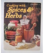 Vintage 1975 Sunset Cooking with Spices & Herbs in English paperback Coo... - $9.89