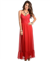 Sexy Long Chiffon Party Cocktail Club Cruise Dress, Black or Burgundy Red - $34.99