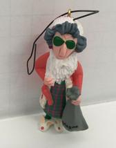 vintage keepsake  hallmark shoebox greetings Maxine old lady santa ornam... - $13.86
