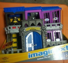 NEW FISHER PRICE IMAGINEXT DC SUPER FRIENDS GOTHAM CITY JAIL WITH ACCESS... - $49.99
