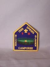 """B.S.A. 1986 Spring Camporee River Glenn (approx 3"""" x 3.5"""") - $8.53"""