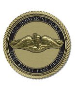 Submariner Medallion for Box Cremation Urn/Flag Case - 2 Inch Diameter - $59.99