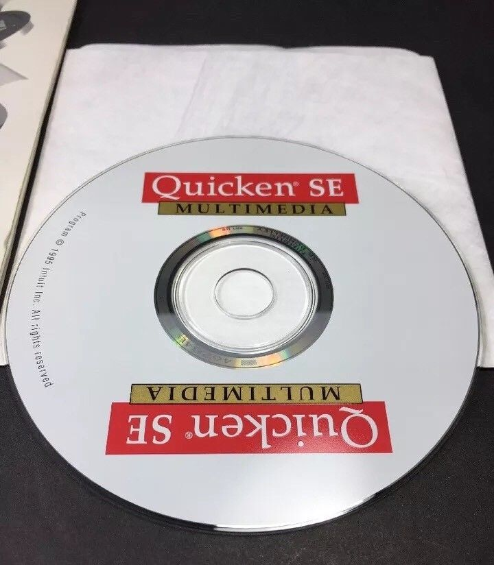 Quicken for Windows SE Intuit Software CD and 50 similar items