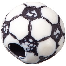 Darice B03-214C0L Plastic Soccerball Bead 12Mm 12Pc, Multicolor.. - $12.99