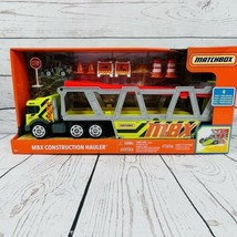 Matchbox MBX Construction Hauler Toy & Bulldozer - 8 Additional Pieces - New - $14.82