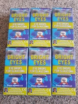 Ethos Bright Eyes Eye Drops for Glaucoma 60ml 6 Boxes - $311.97