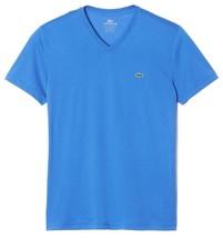Lacoste Men's Sport Athletic Pima Cotton V-Neck Shirt T-Shirt West Indies