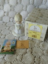 Enesco Precious Moments Thinking Of You Is What I Really Like To Do 1989 Figure - $9.69