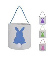 Easter Bunny Bags Rabbit Ears Design Cotton Dual Layer Easter Eggs/Gift ... - $23.98