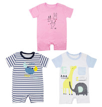 StylesILove Cute Characters Baby Boy Jumpsuit - 3 Colors - $11.99