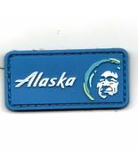 FSS ALASKA AIRLINES GUARD PILOTS AKA LOGO PVC HOOK & LOOP EMBROIDERED PATCH - $23.74