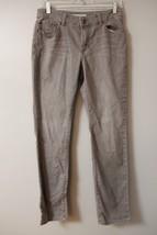 Chico's Gray Jeans Skinny Slim Sz 0.5 Regular Womens Denim Pants Stretch  - $14.43