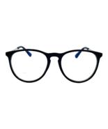 Quinn - Blue Light Blocking Glasses - Trendy Round Frame - Unisex - Blac... - $18.99+