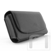Horizontal Leather Case Belt Clip Belt Loop Holster Pouch For HTC Desire 10 pro - $6.43