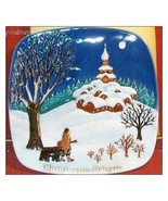 Royal Doulton   John Beswick Limited Christmas in Bulgaria Collector Plate - $44.55