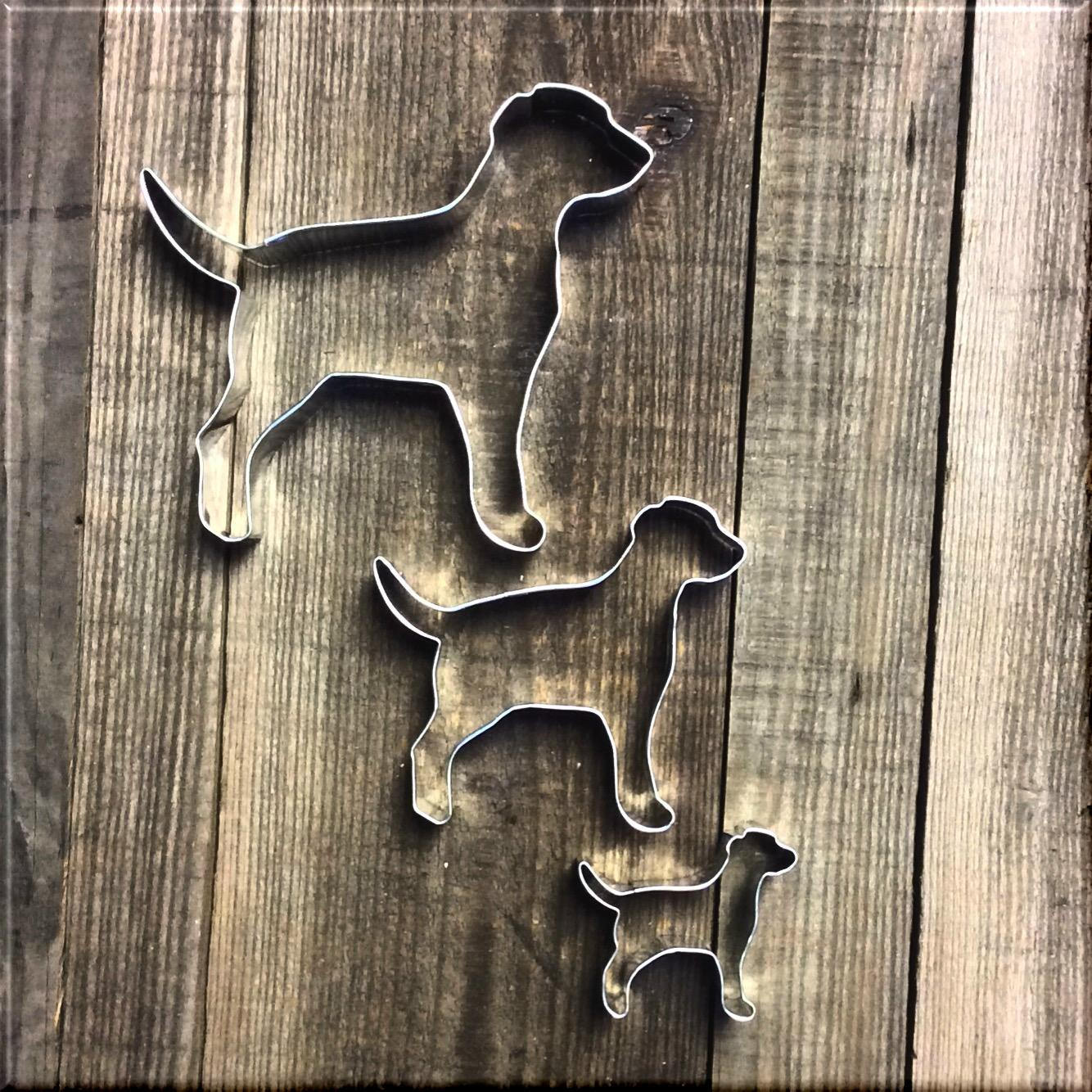 Set of 3 Labrador Retrievers Cookie Cutters #NAWK158