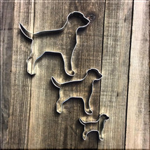 Set of 3 Labrador Retrievers Cookie Cutters #NAWK158 - $3.75