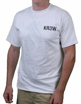 KR3W Skateboarding Men's White Dixon/Lizard Flip Short-Sleeve T-Shirts NWT image 2