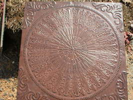 "Giant 22x22x3"" Celtic Knot Mold Makes Concrete Stepping Stone or a Thinner Tile  image 2"