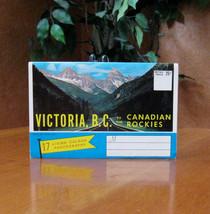 Vintage Souvenir Postcards 17 Living Colour Photos Victoria BC Canadian ... - $24.99