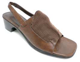 COLE HAAN Size 6.5 Brown Leather Sandals Shoes 6 1/2 - $21.60