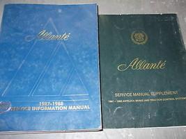 1987 Cadillac Allante Negozio Servizio Riparazione Manuale Set W Integra... - $120.98