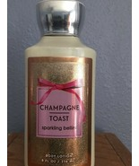 Bath & and Body Works * Champagne Toast * full 8 oz body lotion NEW - $12.59