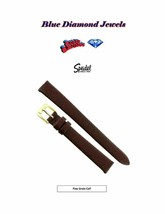 12mm Speidel Brown Genuine Fine Grain Calf Women's Flat Watch Band CHEAP - $7.95