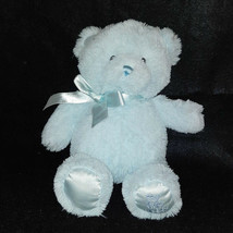 "Baby Gund My First Teddy Blue Bear Plush Stuffed Toy 10"" - $7.92"