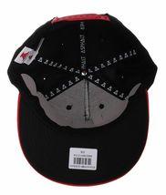 Asphalt Yacht Club Black Red Icon A Snapback Baseball Hat Skate Stevie Williams image 7