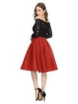 Maggie Tang 1950s Vintage Retro Polka Dots Swing Rockabilly Casual Skirt... - $38.95
