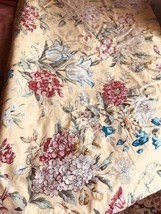 Pottery Barn Elodie Duvet Cover Set Yellow Queen 2 Standard Sham Mum Flo... - $129.00
