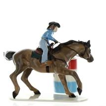 Hagen Renaker Horse Rodeo Barrel Racer Ceramic Figurine image 5