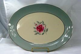 "Flintridge 1972 Miramar 14"" Oval Platter - $45.73"