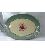 "Flintridge 1972 Miramar 14"" Oval Platter - $41.57"