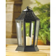 MIDNIGHT GARDEN CANDLE LANTERN - $26.00