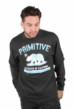 Primitive Men's Cultivated Marijauana Skate Street Wear Polar Sweat Shirt NWT image 1