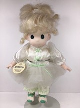 Precious Moments Doll Vintage Blonde Tonya w/ Stand 12 1994 Displayed Only - $28.00