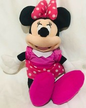 "Disney Minnie Mouse Plush 16"" Doll Stuffed Toy Authentic Licensed Disney... - $13.54"
