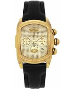 Joe Rodeo King 0.36 ct Diamond Mens Gold Tone Watch JKI30 - $258.39