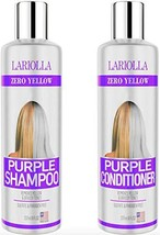 2-PACK Best Purple Shampoo and Conditioner for Blonde Hair - Blonde Shampoo for