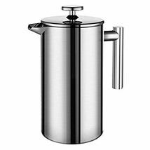 Dili French Press Coffee & Tea Maker (34 floz) 18/10 Bonus (1000 ML) - $28.27