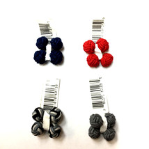 Bloomingdale's Graytok Collar Company  Men's Round Knot Cufflinks set of 4 - $16.82