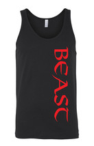 Red Beast Black Top Gym Workout Muscle Fitness Bodybuilding Ladies Tank ... - €10,93 EUR+