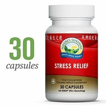 Natures's Sunshine Stress Relief, Chinese TCM Concentrate, 30 Capsules   Nourish