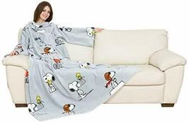 Kanguru Deluxe-Decke mit Snoopy-Motiv, grau - $49.42