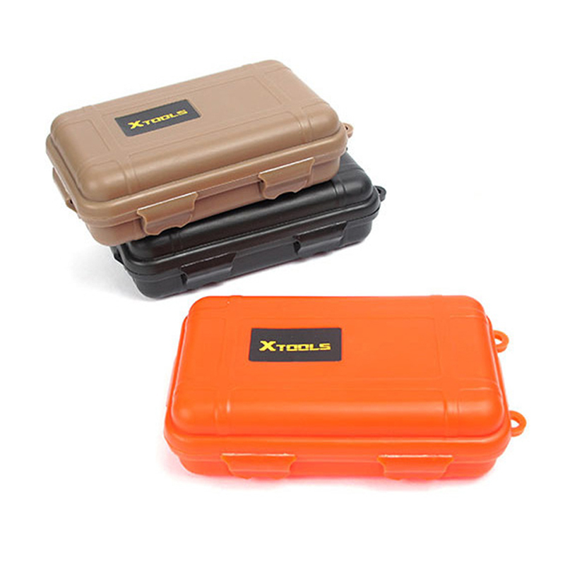 Plastic Camping Airtight Survival Box Container Outdoor Waterproof Box Travel Sh