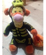 Tiger On Halloween From Disney Store Plush - $19.80